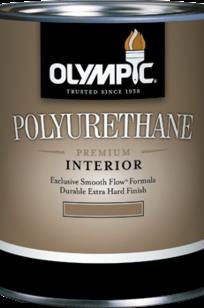 Olympic Interior Satin Polyurethane 43884 thinned on Designer Page