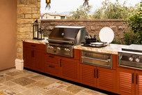 Brown Jordan Outdoor Kitchens on Designer Pages