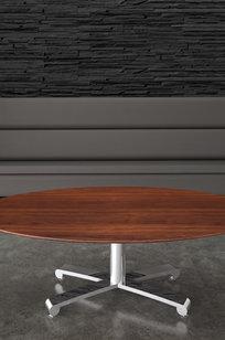 Collaborative/Café Tables Konverse Cross Base on Designer Page