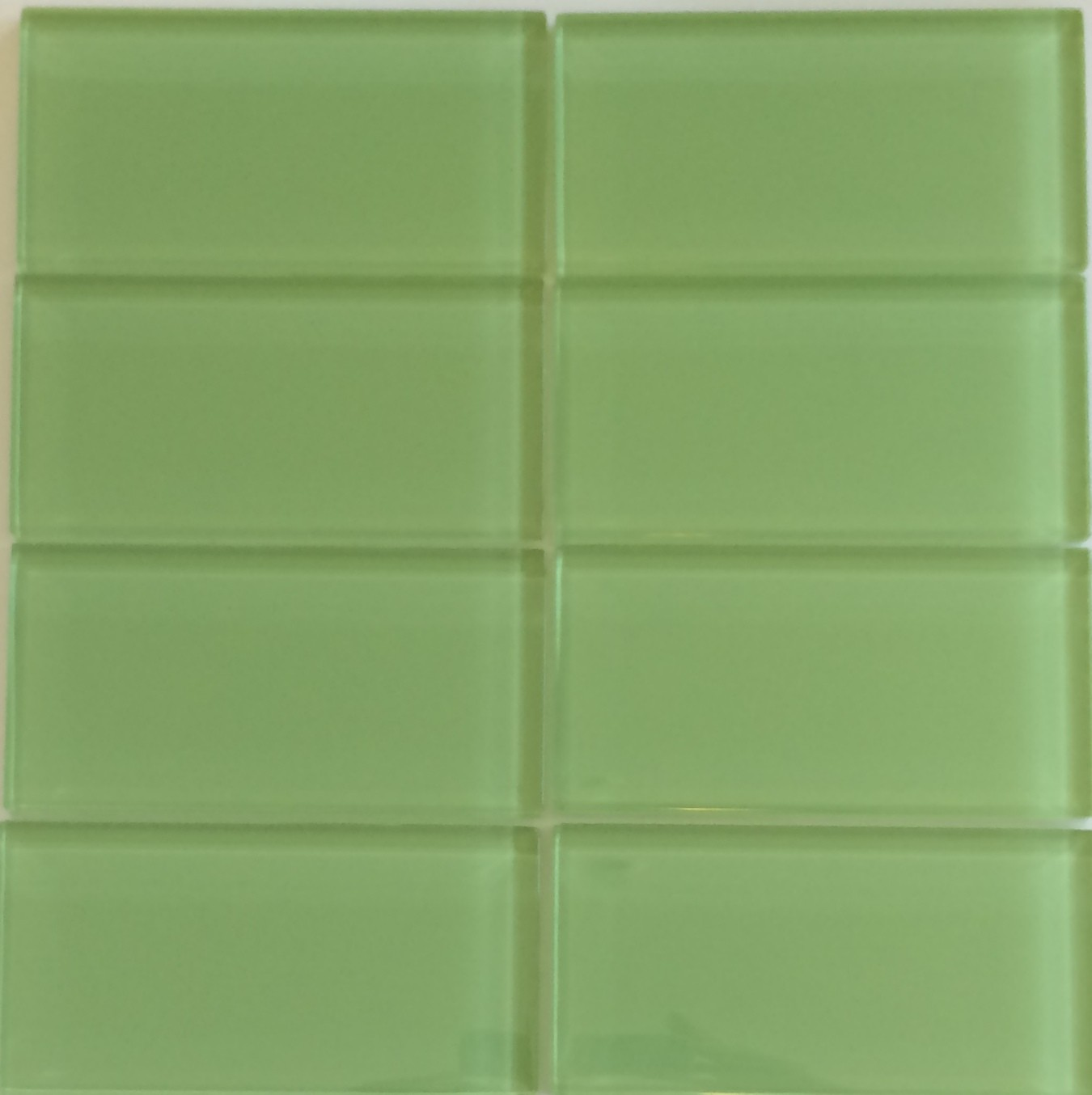 Lush 3x6 Glass Subway Tile On Designer Pages