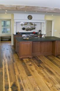 Barnwood Flooring on Designer Page