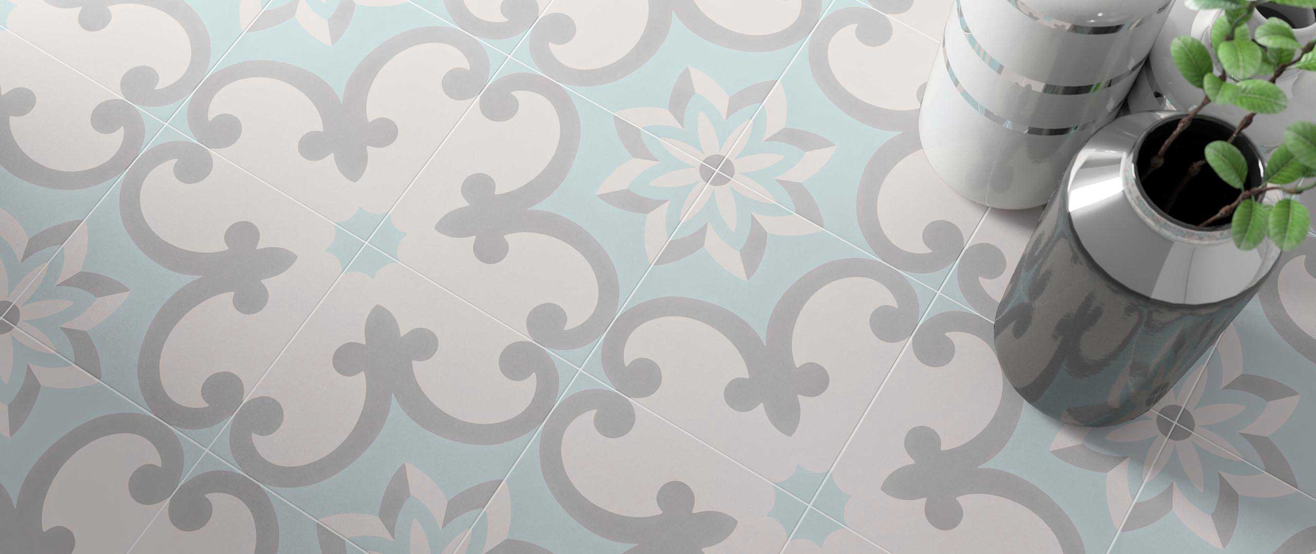 Cement Floor Tiles Tradition Decor 2 On Designer Pages