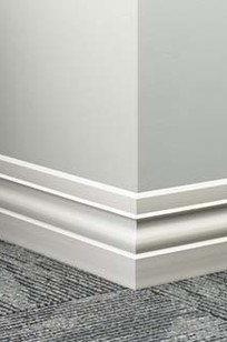 Johnsonite® Millwork Wall Base System on Designer Page