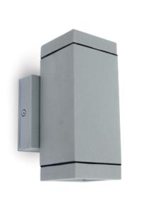Wall tubes 2xGU10 35W Grey - D67130A/G on Designer Page