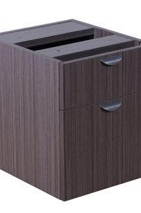 Boss 2 Hanging Pedestal-3/4 Box/File , Driftwood - N108-DW on Designer Page