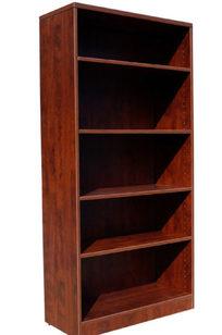 Boss Bookcase, 31W X14D X 65.5H Mahogany - N158-M on Designer Page