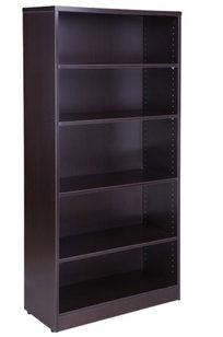 Boss Bookcase, 31W X14D X 65.5H Mocha - N158-MOC on Designer Page