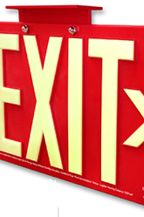 Series C100 Exit Sign on Designer Page