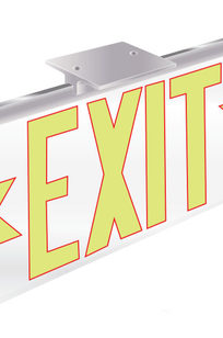 ECO-CLEAR Series 2003 Exit Sign on Designer Page