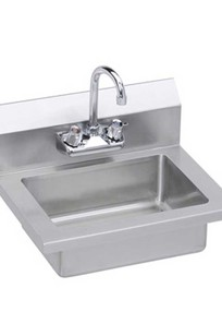 """Economy 18"""" Hand Sink, Wall Mounted - EHS-18X on Designer Page"""