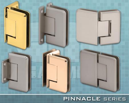 10 2880 Pinnacle Series Frameless Shower Door Hardware On Designer