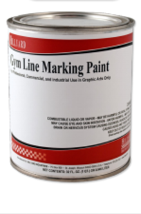 Gym Marking Paint on Designer Page
