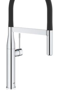 Essence New Semi-Pro Single Handle Kitchen Faucet - 30295000 on Designer Page
