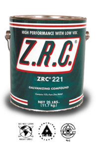 ZRC® 221 Cold Galvanizing Compound on Designer Page