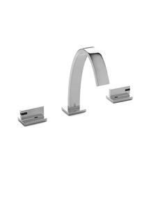Aqueduct Faucet with Black Onyx Aqueduct Lever on Designer Page