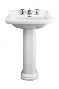 """Waldorf 23 5/8"""" Pedestal Basin Set on Designer Page"""