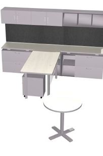 Department Chair Workstation on Designer Page