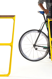 MultipliCITY Bike Rack on Designer Page