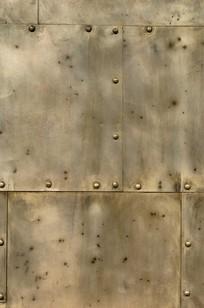 Riveted Metal on Designer Page