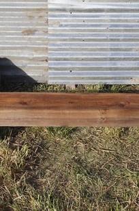 "55.5"" x 4"" x 8"" Reclaimed Wood Beam Mantel on Designer Page"
