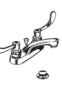 MONTERREY™ TWO-HANDLE CENTERSET LAVATORY FAUCET WITH CONVENTIONAL SPOUT MODEL 5501 on Designer Page