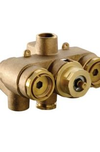 "3/4"" Thermostatic Mixing Valve (Rough Valve only) - TSTT on Designer Page"