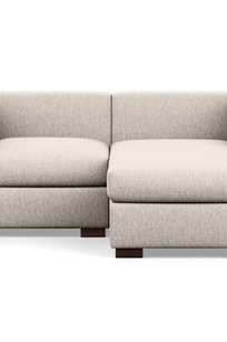 """Toby - 72""""  Chaise Sectional on Designer Page"""