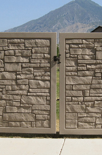 Ecostone® Gate on Designer Page