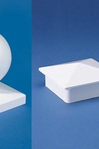 Decorative PVC Post Caps on Designer Page