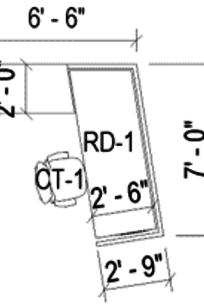 Reception desk on Designer Page
