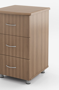 BEDSIDE CABINETS & CASEGOODS 3 Drawers Cabinet TBCAB-A on Designer Page
