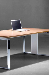 iMove-F Sit-Stand Desking System on Designer Page