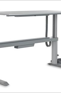 GO2 Basic Sit-Stand Desking System on Designer Page