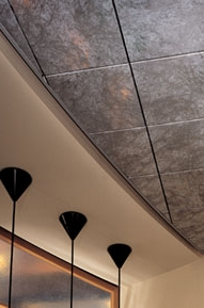 USG Ceilings Celebration Specialty Metal Ceiling Panels on Designer Page