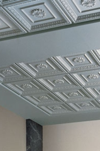 USG Ceilings Cadre Historical Sculpted Ceiling Panels on Designer Page