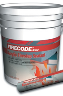 FIRECODE Brand Acrylic Firestop Sealants on Designer Page
