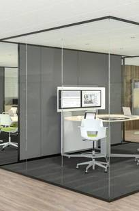 Privacy Wall and Glass Selections on Designer Page