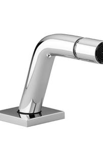 Bidet spout without drain - platinum matte - 13 900 972-06 on Designer Page
