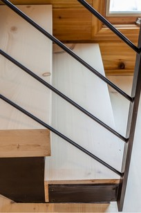 Custom Wooden Stair Treads on Designer Page