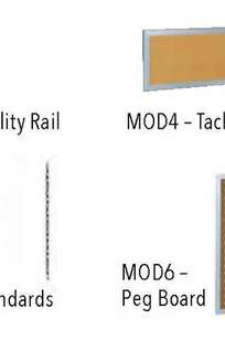 MODULAR BOARDS & WALL STANDARDS on Designer Page