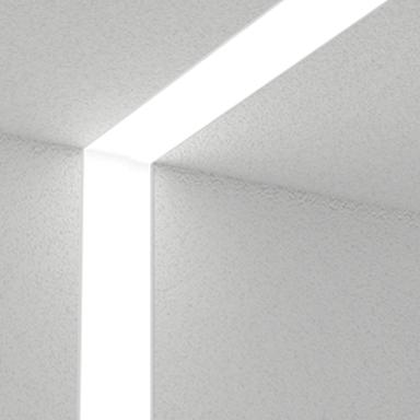 Beam2 LED Recessed Vertical, on Designer Pages