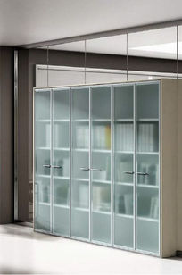 S100 Two Sided Storage Wall on Designer Page