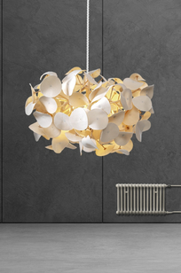 Leaf Lamp Pendant on Designer Page