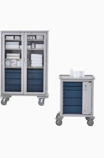 Procedure and Supply Carts on Designer Page