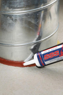 SSS Intumescent Firestop Sealant on Designer Page