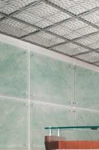 WIREWORKS™ OPEN CELL CEILING PANELS on Designer Page
