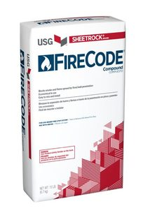 SHEETROCK® BRAND FIRECODE® COMPOUND on Designer Page
