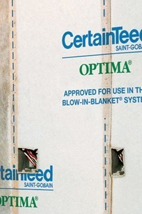 Optima Blow-In Insulation System on Designer Page