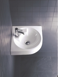 Washbasins architec on designer pages for Lavabo esquinero