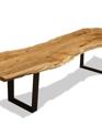 Steel based blackcomb table single slab medium cropped